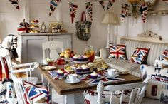Love it! Shabby Brit Style. I Heart Shabby Chic: I Heart Shabby Chic The Queen's Jubilee London 2012