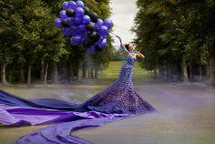 """In Celebration of Spring"" from the ""Wonderland"" Series   Model: Elbie Van Eeden, Photographer: Kirsty Mitchell, 2009"