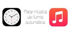 Haciendo uso del temporizador disponible en la aplicación Reloj de iOS podremos configurar que la música se pare en un tiempo, también en iphone.
