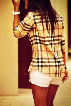 burberry. If I looked like this...I would be the happiest human alive, too.