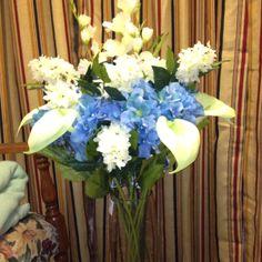 Wedding arrangement I made!! Hb
