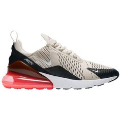 Nike Air Max 270-Men s-Running-Shoes-Black Light Bone Hot Punch White -sku H8050003 4fe07a527