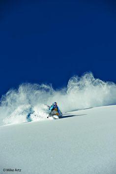 Steep and Deep, love the powder! - Daron Rahlves - Warren Miller skier