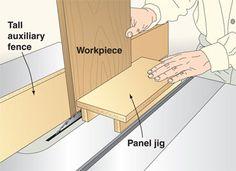 Raised-Panel Pushing Jig