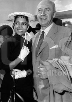 """""""He [Otto Preminger] was very good to her [Dorothy Dandridge]. He wanted to buy her huge real estate in New York. He really wanted her security. She would go with him once a year to Paris and London for clothes. Once a year he would get her a..."""