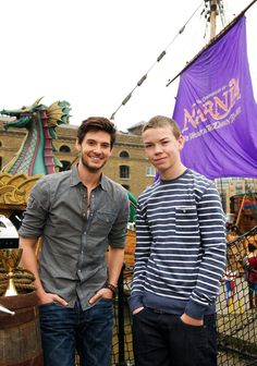 Ben Barnes and Will Poulter Narnia Cast, Narnia 3, Ben Barnes, Hot Actors, Actors & Actresses, Will Poulter, Radios, Prince Caspian, The Avengers
