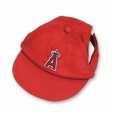 6b04ee0efea00 DoggieNation Large Los Angeles Angels Dog Cap  pets  dogs  animals  Angels   baseball  dogclothes  LAAngels  Angelsbaseball