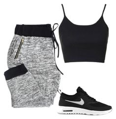 untitled by mrsavocado on Polyvore featuring Topshop and NIKE