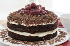 Easy Black Forest Cake