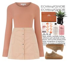 """EVERYTHINGS PEACHY "" by idcmyaa ❤ liked on Polyvore featuring Jill Stuart, Innocence, ASOS, Acne Studios and philosophy"