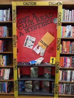 Could take out more shelves and make a body outline! School Library Decor, School Library Displays, Middle School Libraries, Library Themes, Teen Library, Elementary Library, Library Ideas, Library Inspiration, Classroom Displays