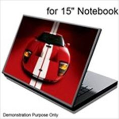 Cover with sportcar for 15-inch Notebook Laptop Special