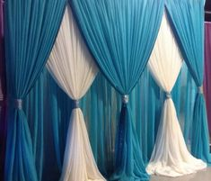 Drapes Backdrop Pipe And. Sheer White Drapes Pipe And Drape Rentals Phoenix AZ . Curtain Backdrop Wedding, Pipe And Drape Backdrop, Wedding Backdrops, Party Kulissen, Rideaux Design, Backdrop Decorations, Backdrop Ideas, Photo Backdrops, Creation Deco