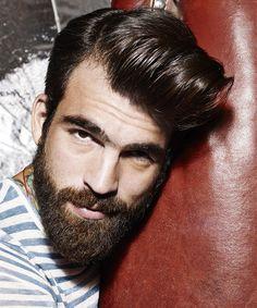 Popular beard and hair duo