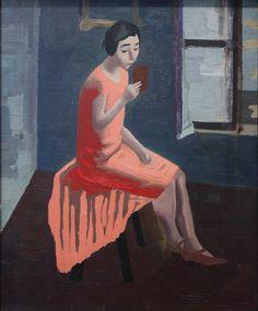 Franz Lerch (1895-1977) was een Oostenrijkse schilder en de vertegenwoordiger van de Nieuwe Zakelijkheid. Met de annexatie van Oostenrijk naar Duitsland in 1938, was het echtpaar, door de joodse afkomst van zijn vrouw, gedwongen te emigreren naar New York. Voordat hij vluchtte , vernietigde hij al zijn onverkochte werken.