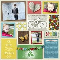 A Project by senderikaaletter from our Scrapbooking Gallery originally submitted 03/06/13 at 11:06 AM