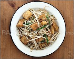Bean Sprouts with Tofu Puff   Easy Asian Recipes at RasaMalaysia.com - Page 2