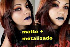 COMO FAZER BATOM MATTE METALIZADOS (metálico) | KYLIE JENNER