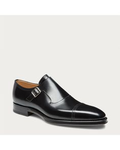eb63f495d Bally | Black Nebraska Monk Strap Calf Leather Shoes for Men | Lyst Calf  Leather,