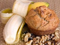 i made these today but with chocolate peanut butter protein powder. so good!  Low Calorie - High Protein Banana Muffins