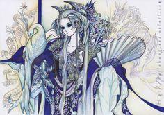 Madame Blue by Hellobaby.deviantart.com on @deviantART
