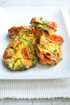 Ei muffins uit de oven - Uit Pauline's Keuken