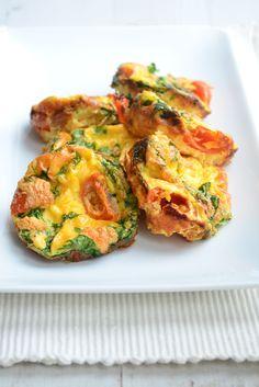 Ei muffins uit de oven - Uit Pauline's KeukenUit Pauline's Keuken
