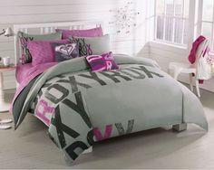 Roxy Pink Gray Graphic Logo Print Teen Girls Duvet Sham Set Roxy http://www.amazon.com/dp/B00409RK6Y/ref=cm_sw_r_pi_dp_jmPBub03MAVD3