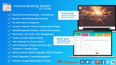 "Check out my @Behance project: ""Institute Booking System - All In One Booking Website"" https://www.behance.net/gallery/55018451/Institute-Booking-System-All-In-One-Booking-Website"