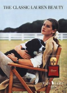 I had this poster on my wall growing up.. Loved Lauren..still love Ralph!
