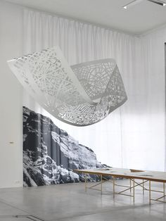 EUtopia explores the potential of an architectural paradise - News - Frameweb Abstract Sculpture, Sculpture Art, Ceiling Installation, Ceiling Decor, New Art, Art Photography, Yangzhou, Inspiration, Chongqing
