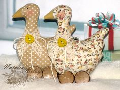 Tilda goose. Set of 2 pcs. Easter goose. Easter от LightDolls