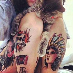 Randi tetovált srácok