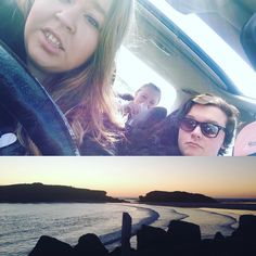 The start of our road trip and the end of our road trip. Can't wait for next weekend when we go to the twelve apostles. Love the great ocean road just being in my backyard. #greatoceanroad #warrnambool #destinationwarrnambool #3280 #beach #Australia #bestfriends #bestfriendssincehighschool #selfie #baes #mysecondfamily #roadtrip #travelling by katharinegracex