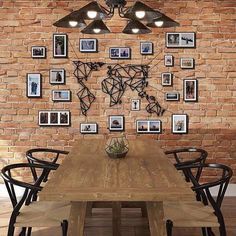 Design metal wall decoration of the world map to inspire your home with a black touch and create a contemporary atmosphere for all the travelers Travel Wall Decor, Map Wall Decor, Gallery Wall Layout, Gallery Walls, Metal Design, Metal Walls, Home Living Room, Decorating Your Home, Decoration