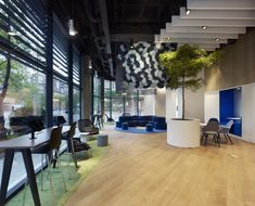 AEGON Headquarters ground floor by MVN Arquitectos, Madrid – Spain » Retail Design Blog