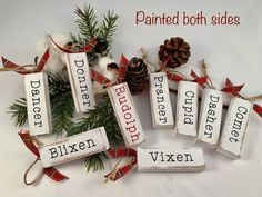 Your place to buy and sell all things handmade Dollar Tree Christmas, Christmas Crafts For Gifts, Christmas Wood, Christmas Signs, Homemade Christmas, Christmas Projects, Christmas Decorations, Holiday Decor, Christmas Ideas