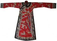 Chinese Silk Robes for Men | Antique Chinese Men's Theater Robe (item #1095887)