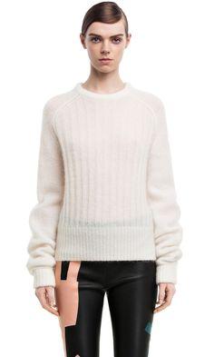 Acne sweater mohair
