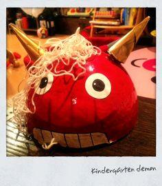 kindergarten demon cap
