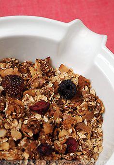 Rezept mit Bild für selbstgemachtes Knuspermüsli - foolforfood.de