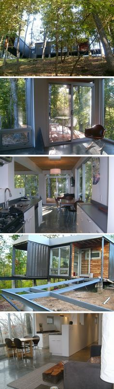 8747 SHIPPING CONTAINER HOUSE