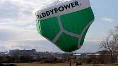 Giant Paddy Power pants fly high over Cheltenham - ITV News