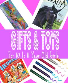 Best Gifts & Toys for 10 Year Old Girls in 2013 - Christmas, Birthday and 10-11 Year Olds