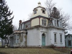 Beautiful abandoned house in Madison County, Ohio.