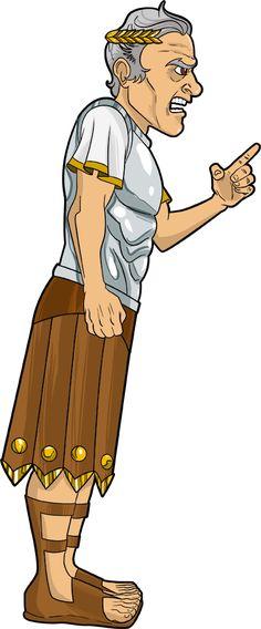 Caesar, the Roman Emperor.