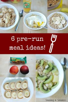 Check out these great pre-race or pre-long run meal ideas for runners! All inexpensive options you can find at ALDI.