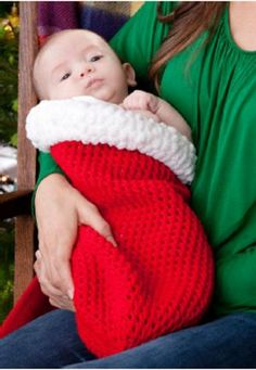 Santaland Holiday Baby Cocoon. This would be cute for a photo with a santa hat too.