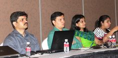 Listening intently to the ongoing session, from L-R: Shivaji Babar, Mahesh Shinde, Rupali Dhawale, Anushka Khairajani