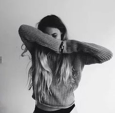 soul | sweaters | hair | black and white | pose | photos